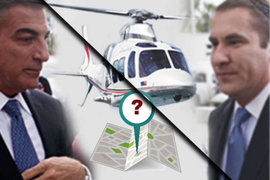 Moreno Valle y Gali hacían de 24 a 40 vuelos al mes en helicópteros