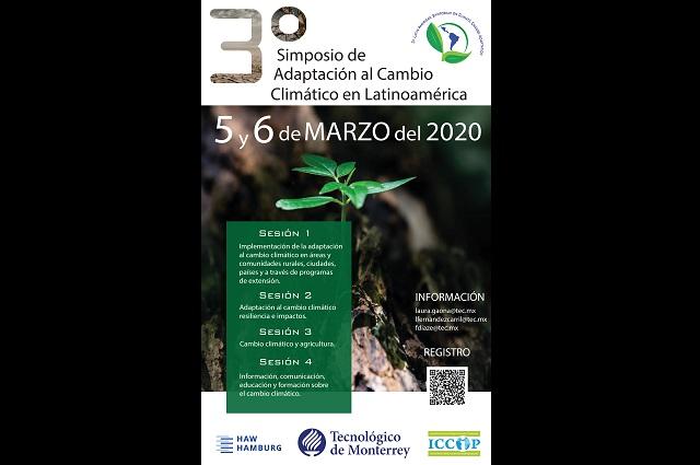 Alista Tec de Monterrey Simposio de Adaptación al Cambio Climático
