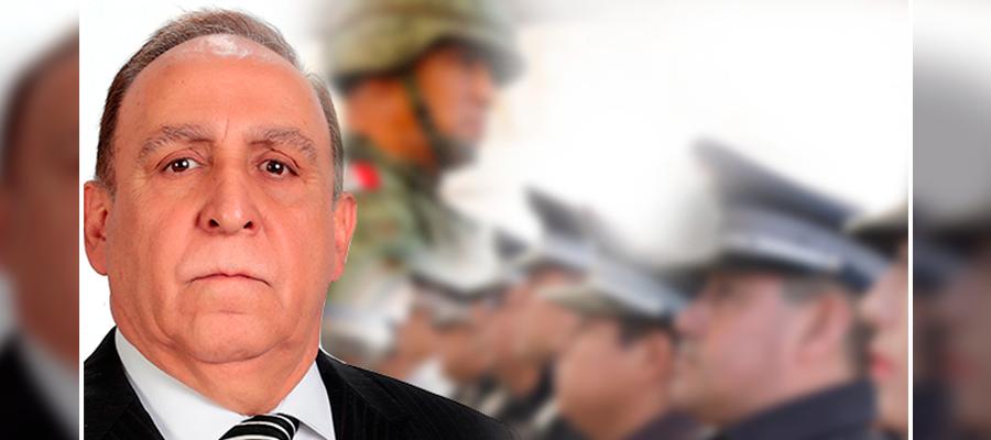 Militarizan con foráneos a la Secretaría de Seguridad en Puebla