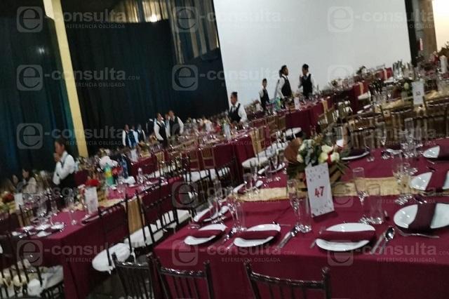 Para el servicio de banquetes, 2020 fue un año perdido