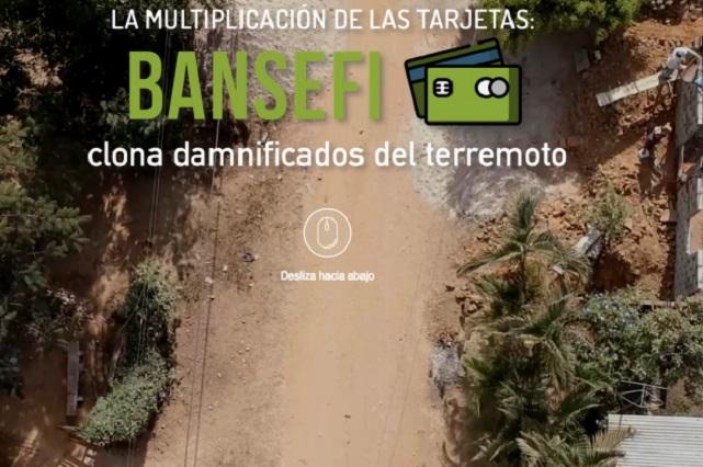 Bansefi rechaza que haya fraude en entrega de tarjetas a damnificados