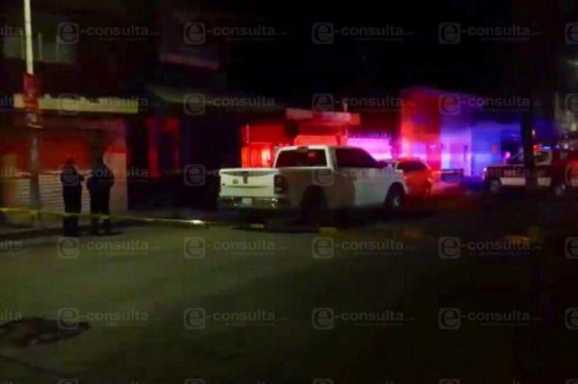 Ahora asesinan al vigilante del bar Catrina de Atlixco