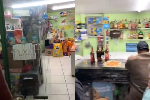 Desmontan bar en Brasil disfrazado de tienda de mascotas