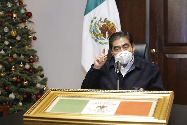 Apuesta Barbosa por candidato de Morena más competitivo en la capital