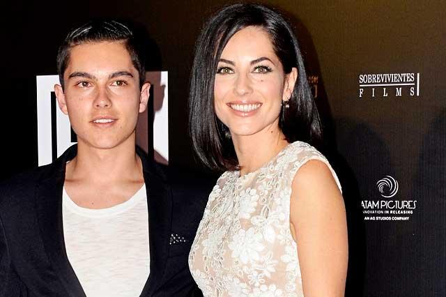 Bárbara Mori hizo que sus seguidores la criticaran por una foto de su hijo