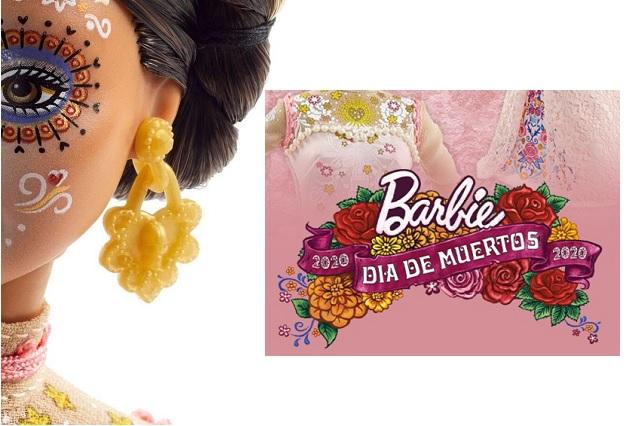 Mattel presenta a la nueva Barbie, edición Día de Muertos