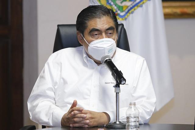 Previsiones en Puebla por aumento de casos covid-19: Barbosa