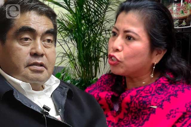 Inés Parra llama cacique e incómodo a gobernador Barbosa