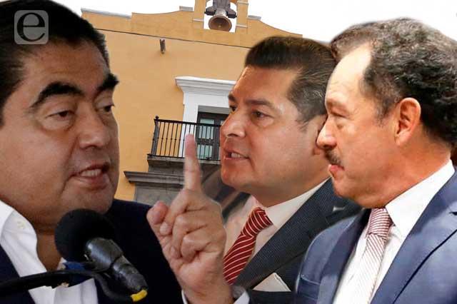 Primer round de Barbosa, Mier y Armenta por gubernatura de 2024