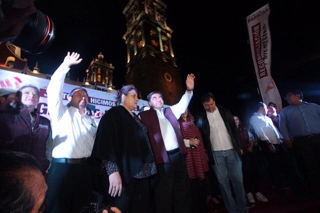 Pide Barbosa a alcaldesa de Puebla ajustar gobierno de cara al 2021