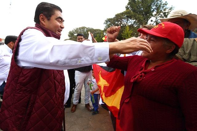 Sumar a morenovallistas no me resta credibilidad, afirma Barbosa