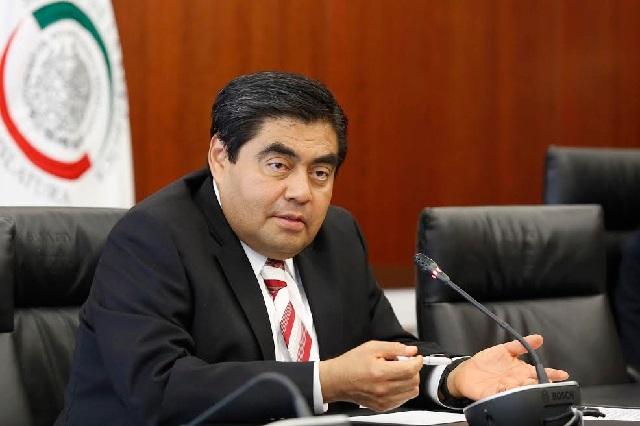 Barbosa afirma que Barrales violará los estatutos si vuelve al Senado