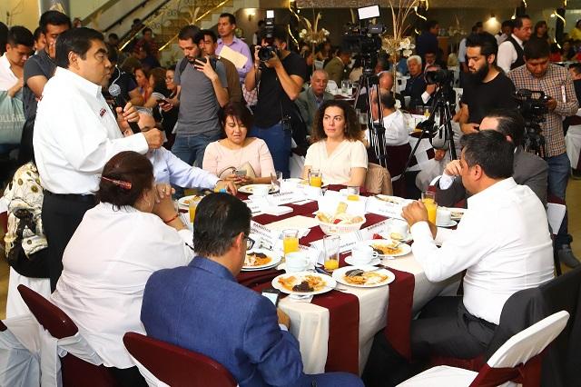 Va Barbosa por más armadoras de autos para Puebla