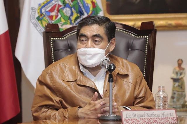 Barbosa: paz en el estado pese a Coyomeapan y Ahuehuetitla