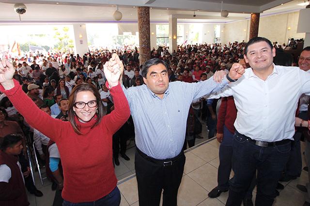 Puebla y México merecen un mejor futuro, señala Barbosa