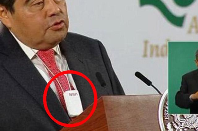 ¿El collar anti Covid que usó Barbosa lo fabrica la NASA?