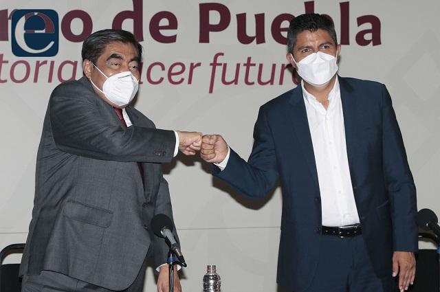 Barbosa y Lalo Rivera en segunda reunión definen proyectos