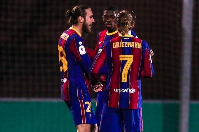 Apenas y alcanzan la victoria; Barça avanza en Copa del Rey