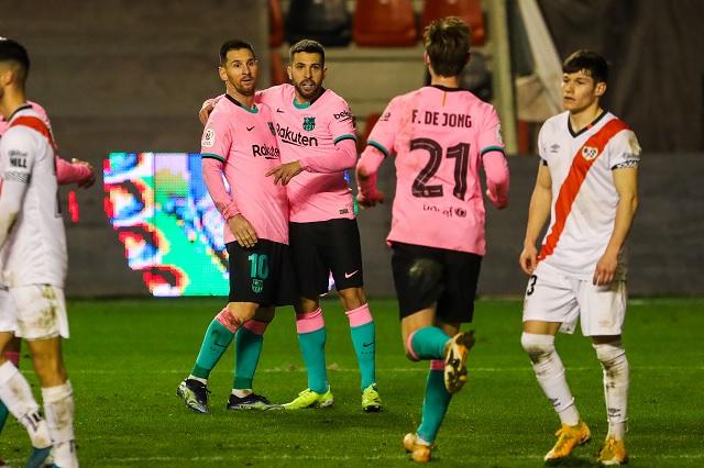 Con remontada, consigue Barcelona avanzar en Copa del Rey