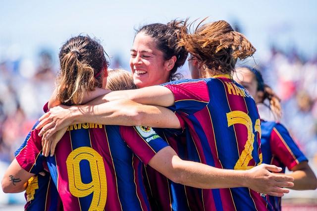 Barcelona Femenil consigue el bicampeonato en la Liga Iberdrola