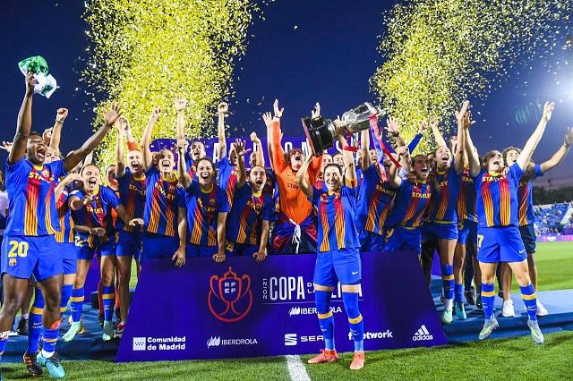 Barcelona Femenil firma el triplete al quedarse con la Copa de la Reina