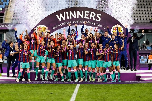 Barcelona Femenil consigue la primer Champions de su historia