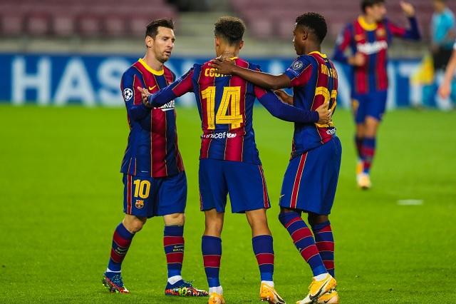Barcelona golea y gana en inicio de Champions League