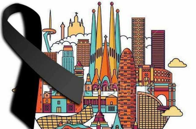 CR7 y otros famosos consternados tras atentado terrorista en Barcelona