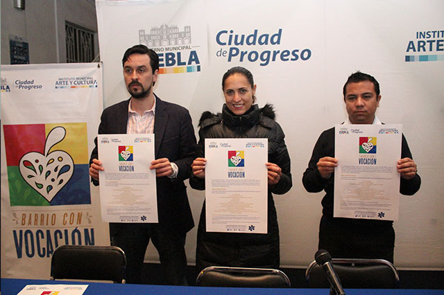 Presentan convocatoria Barrio con Vocación, en su octava edición
