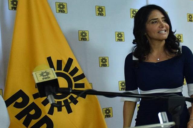 Perredistas enfrían las aspiraciones de Alejandra Barrales en la CDMX