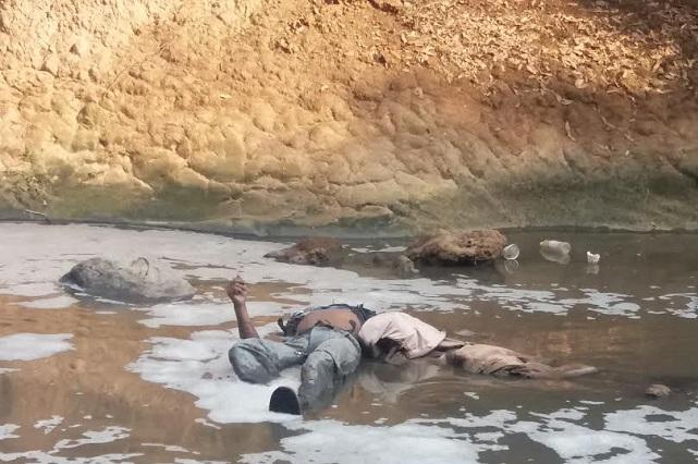 Hallan cadáver en Barranca Honda, entre Puebla y Tlaxcala