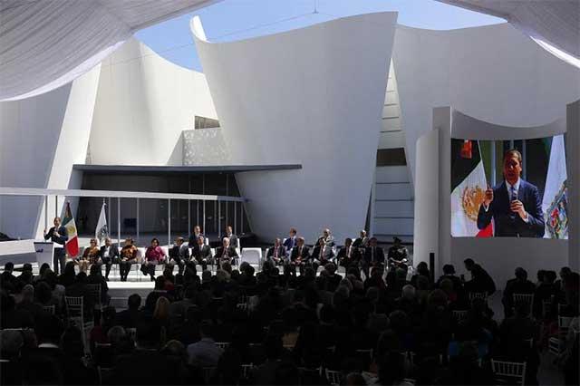 Inauguran en Puebla el Museo Internacional Barroco