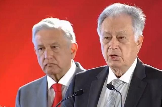 Bartlett afirma que Calderón contribuyó a desmantelar la CFE