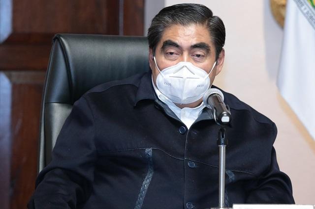 Minimiza gobernador Barbosa queja de la BUAP ante la CNDH