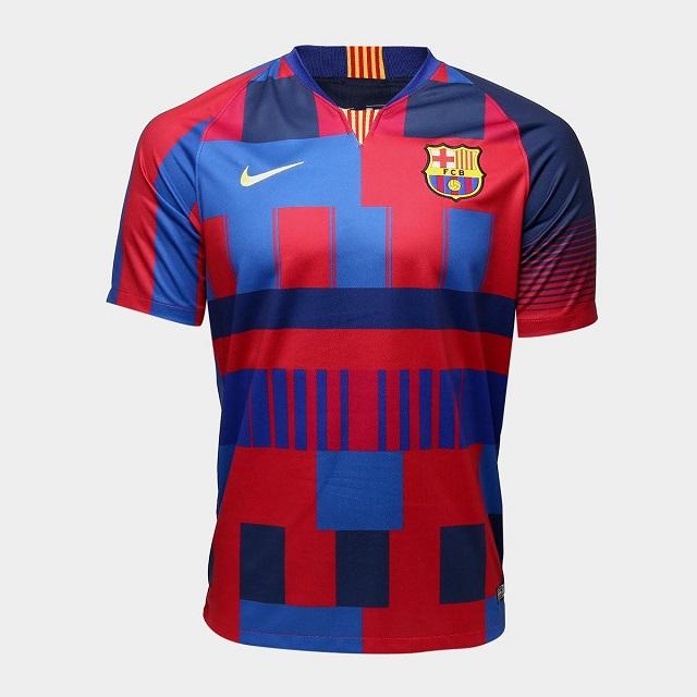 Nike crea jersey por 20 años de sociedad con el Barcelona