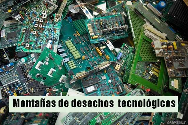 Mexicanos, grandes tiradores de basura electrónica