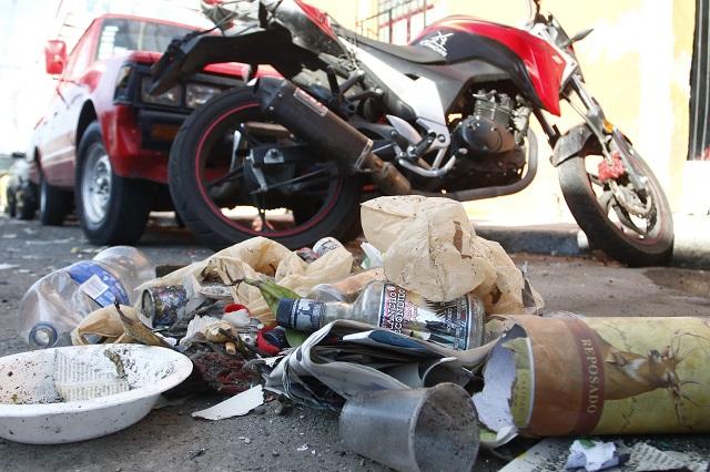 Llaman con #reto a poblanos a transformar tiraderos de basura