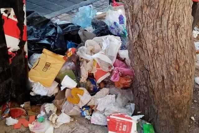 Juntan 935 toneladas de basura en calles de Tehuacán