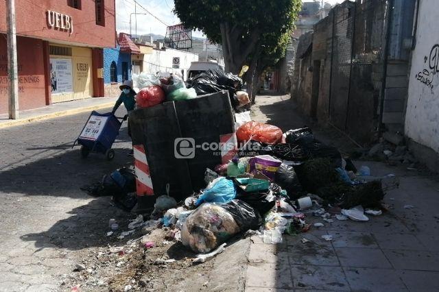 Cumple una semana Tepole y Tehuacán sigue lleno de basura