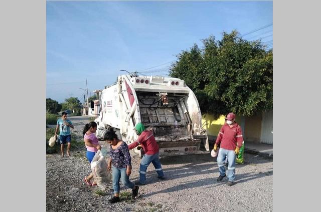 Empresas y hogares deben millones al servicio de limpia en Tehuacán