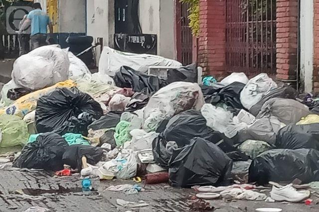 Van 15 días sin recolección de basura en Juan Galindo