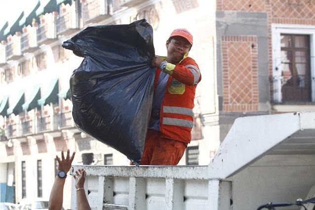 Más de 4 mil toneladas de residuos urbanos recoge Puebla diariamente