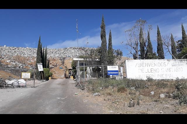 Baja producción de basura en Atlixco por confinamiento