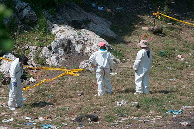 Peritaje de la PGR confirma que 17 cuerpos fueron quemados en Cocula