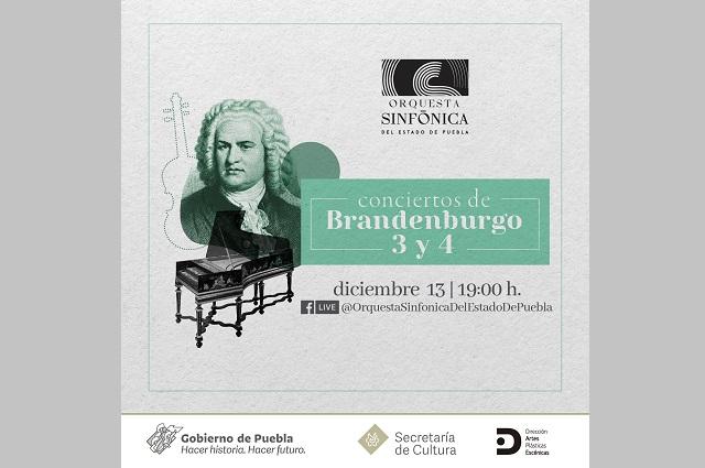 Presentará Orquesta Sinfónica de Puebla conciertos decembrinos