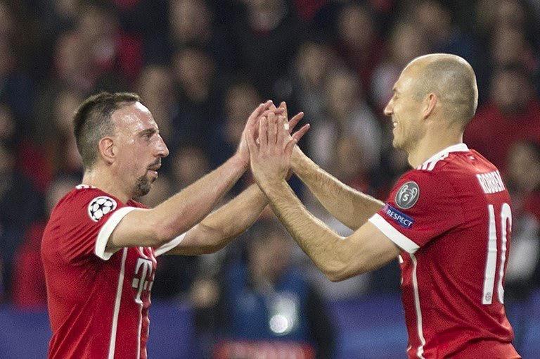 Se acabó la historia de Ribéry y Robben en el Bayern