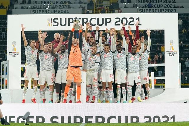 Bayern somete a Dortmund y se queda con la Supercopa alemana