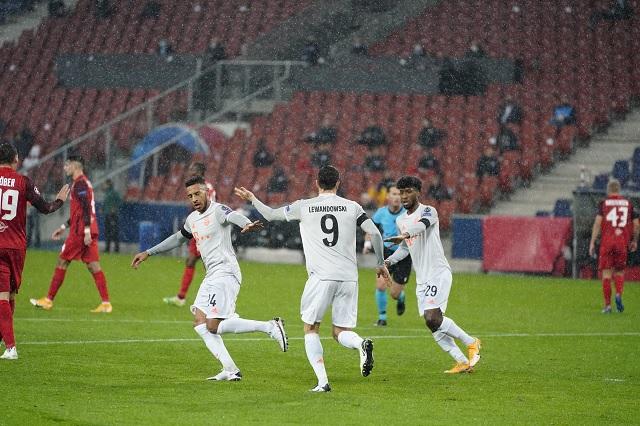 Bayern viene desde abajo y le da la vuelta a Salzburg 2-6