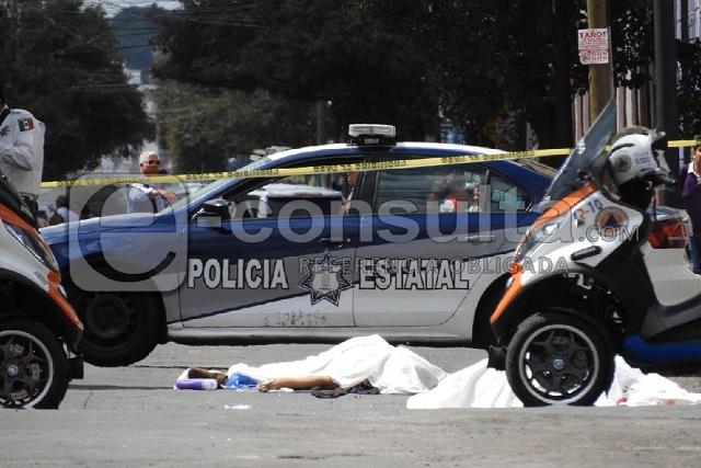 Un Ruta 76 atropella y mata a madre e hija en Puebla