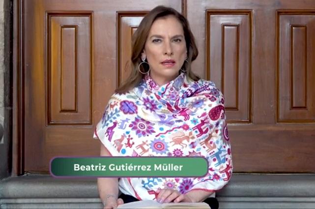 """Beatriz Gutiérrez Müller se disculpa por comentario """"no soy médico"""""""